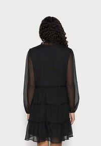 VILA PETITE - VIDITA DRESS - Cocktail dress / Party dress - black - 2