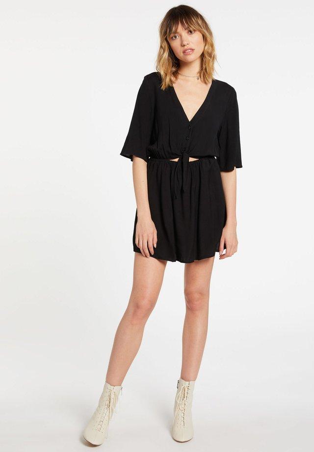 VEN OM DRESS - Robe d'été - black