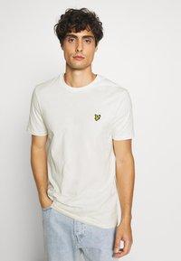 Lyle & Scott - T-shirt - bas - vanilla ice - 3