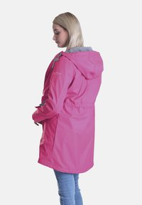 Dingy Rhythm Of The Rain - DINGY RHYTHM OF THE RAIN REGENMANTEL AMY - Parka - rose rot - 1