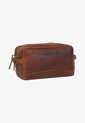 Wash bag - cognac