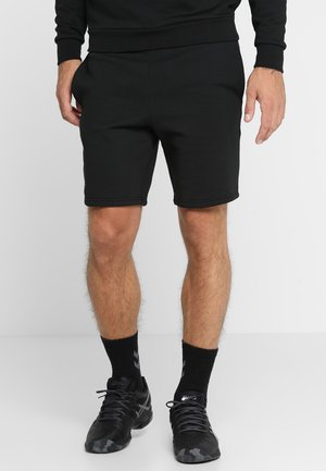 MEN TENNIS SHORT - Pantaloncini sportivi - black