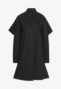 MM6 Maison Margiela - Košilové šaty - black - 8