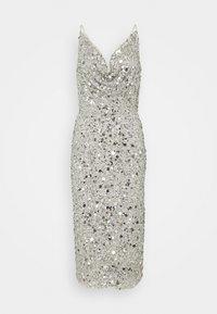Lace & Beads - MARITA MIDI - Cocktail dress / Party dress - grey - 4