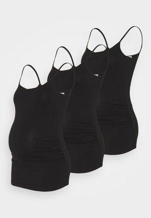 3 PACK - Topper - black/black/black