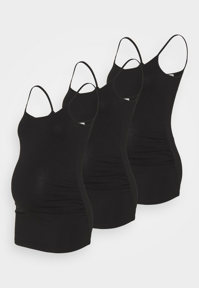 3 PACK - Top - black/black/black