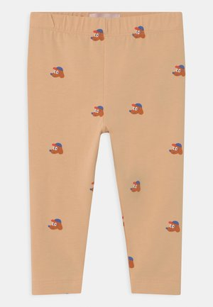 DOGS BABY PANT UNISEX - Legging - cappuccino/true brown