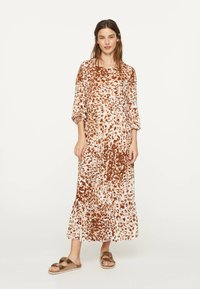 OYSHO - Maxi-jurk - brown - 0