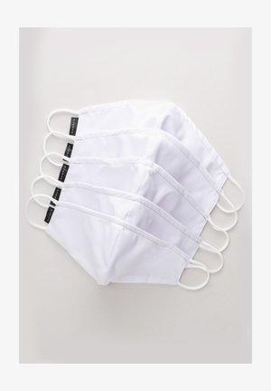 5 PACK - Masque en tissu - weiß