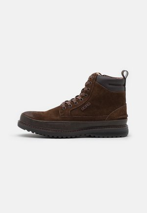 H200 - Lace-up ankle boots - dark brown