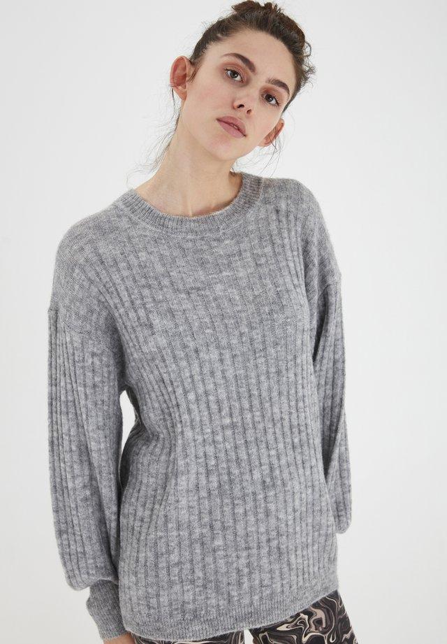 IHAMARA LS  - Sweter - grey melange