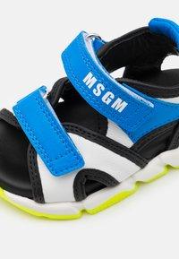 MSGM - UNISEX - Sandals - blue/white - 5