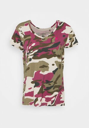 VNECK - Print T-shirt - whitebait pop multi