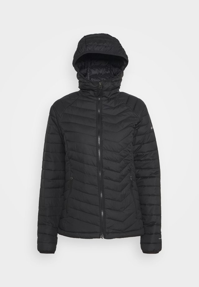 POWDER LITE HOODED JACKET - Winterjas - black