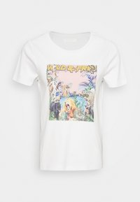 Noisy May - NMSAGA NATE  - T-shirt con stampa - bright white - 3