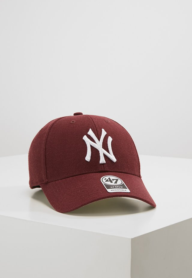 NEW YORK YANKEES UNISEX - Kšiltovka - dark maroon