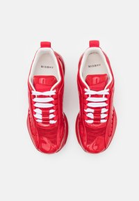 MISBHV - KOMBAT MOON TRAINERS ALL DEEP UNISEX - Trainers - red - 3