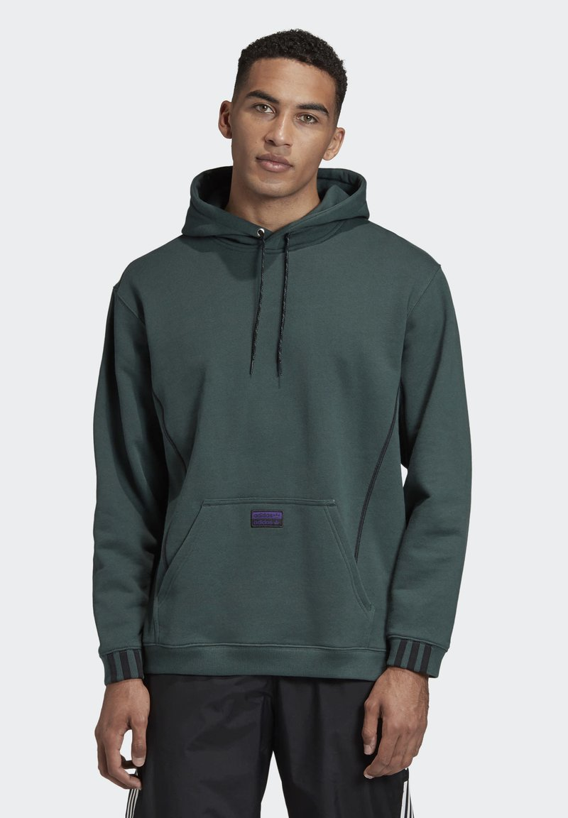 adidas Originals - R.Y.V. HOODIE - Jersey con capucha - green