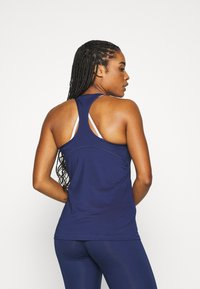 Nike Performance - TANK ALL OVER  - T-shirt de sport - binary blue/white - 2