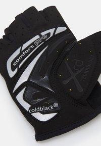 Ziener - CANSEN BIKE GLOVE - Fingerless gloves - black - 1