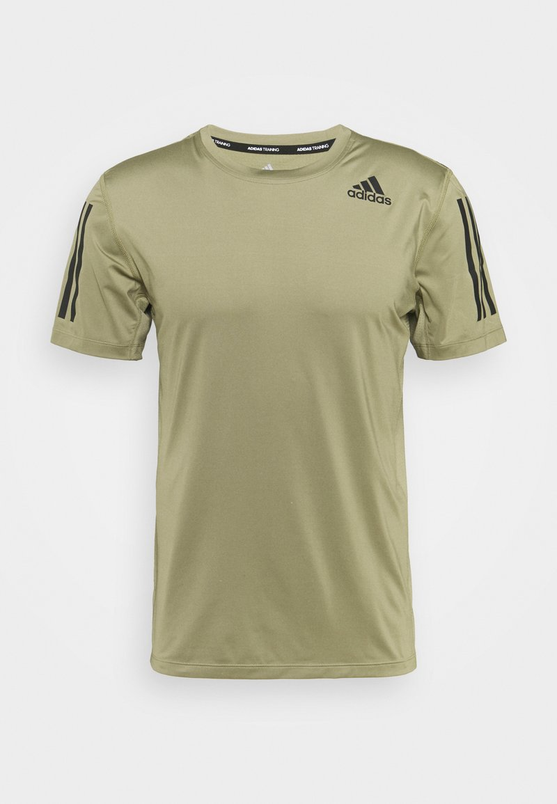 adidas Performance - T-shirts print - orbit green
