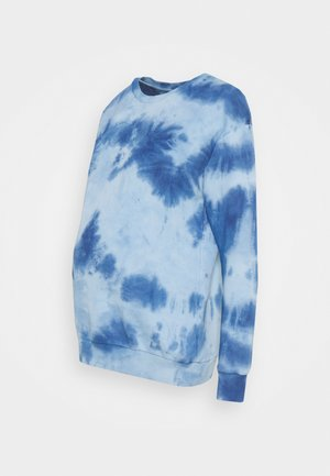 SMUDGE TIE DYE - Sweatshirt - blue