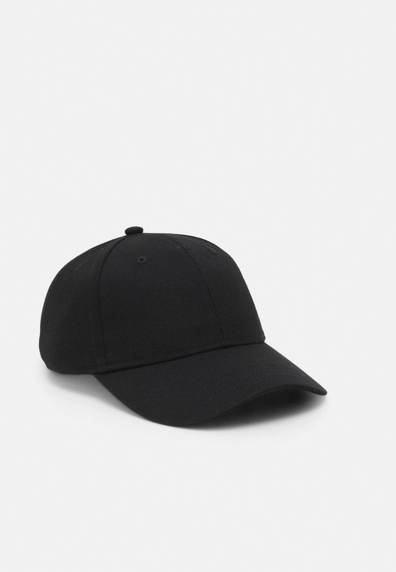 Only & Sons - ONSHARVEY NUMBER UNISEX - Cap - black