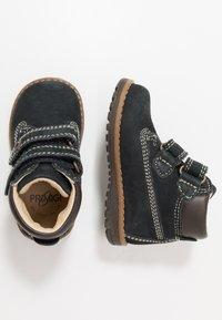Primigi - COLD LINING - Baby shoes - blue scuro - 0