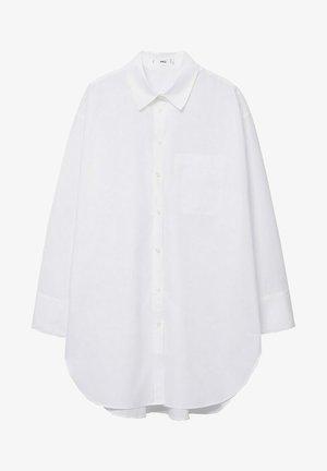 À POCHE - Button-down blouse - blanc