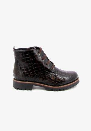 OLIVE - Veterboots - brown