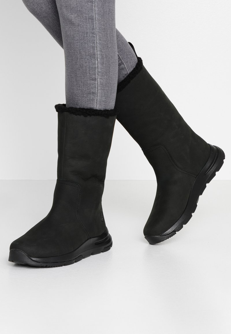 Timberland - MABEL TOWN WP PULL ON - Winter boots - black