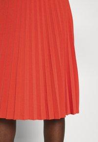 Anna Field - Plisse A-line mini skirt - Falda acampanada - orange - 5