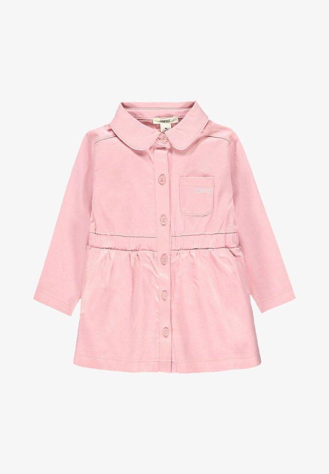Robe chemise - blush