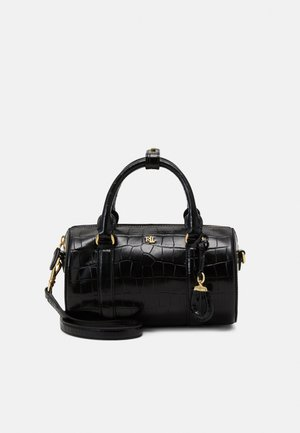 ZOEY SATCHEL SMALL BARREL - Kabelka - black