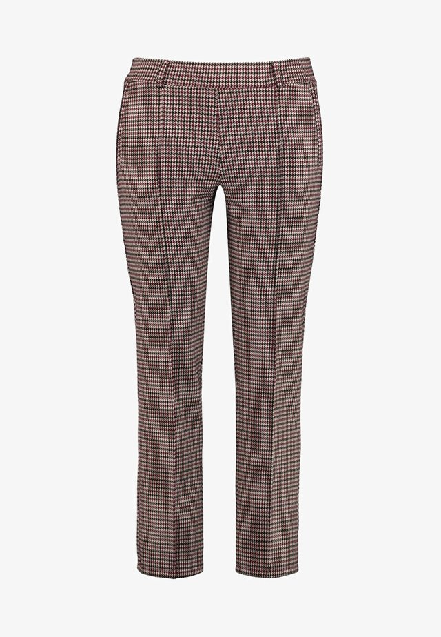 MIT KAROMUSTER - Trousers - camel patterned
