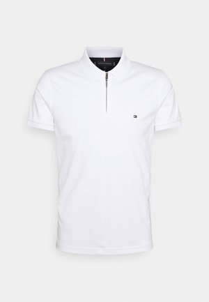 INTERLOCK ZIP SLIM  - Pikeepaita - white