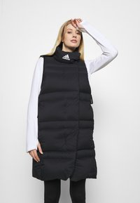 adidas Performance - URBAN COLD.RDY OUTDOOR DOWN VEST - Liivi - black