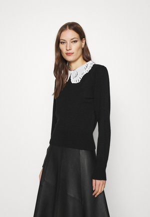 COLLAR - Jumper - black