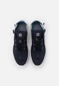 Salomon - TECH AMPHIB 4 - Hiking shoes - navy blazer/bluestone/lunar rock - 3