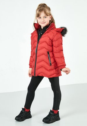 LELA  - Winterjas - red