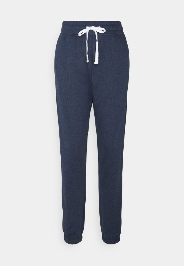 LIFESTYLE GYM TRACKPANT - Tracksuit bottoms - midnight marle