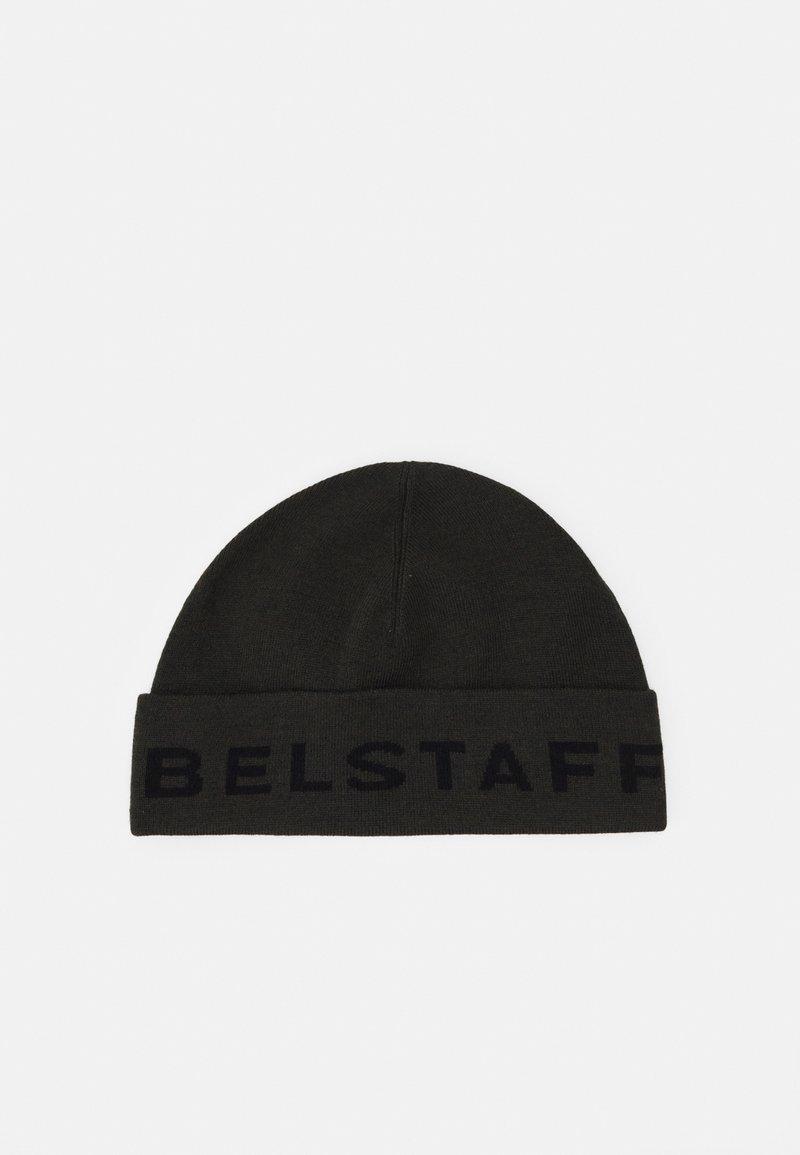 Belstaff - LOGO MOTO HAT UNISEX - Beanie - dark military green/black