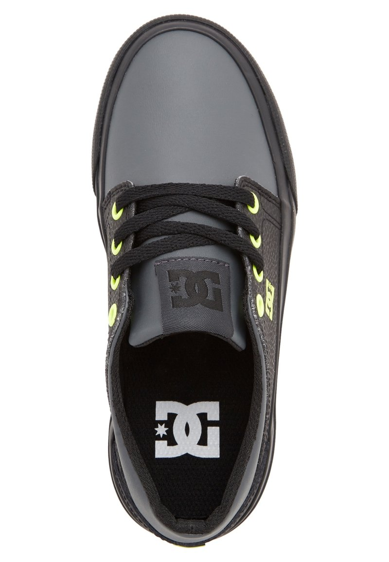 DC Shoes - TRASE - Trainers - black/yellow