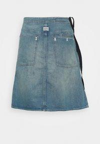 G-Star - LINTELL WRAP SKIRT - A-line skirt - antic faded marine blue - 1