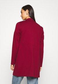 Vero Moda - VMCHLOE LONG BOO - Krótki płaszcz - cabernet - 2