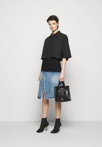 MM6 Maison Margiela - Denim skirt - blue - 1