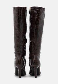 Anna Field - Vysoká obuv - brown - 3