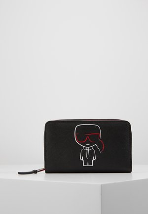 IKONIK FOLDED ZIP WALLET - Geldbörse - black