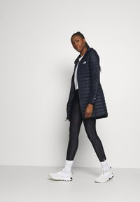 The North Face - W STRETCH DOWN PARKA - Down coat - aviator navy - 1