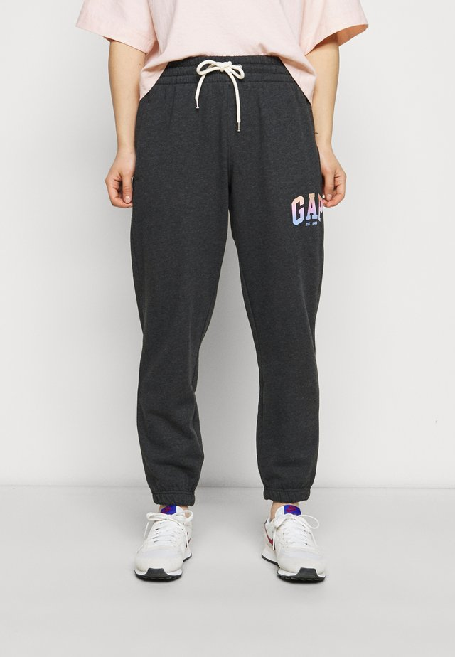 SHINE - Tracksuit bottoms - charcoal heather
